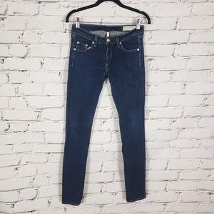 Rag & Bone The Skinny Jeans in Heritage